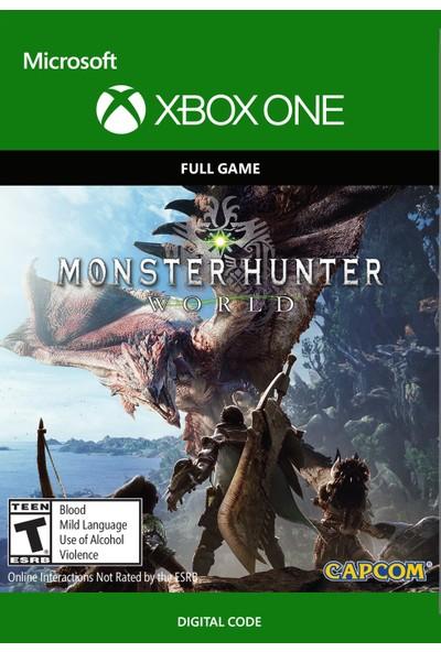 Monster Hunter World Xbox One Dijital Oyun