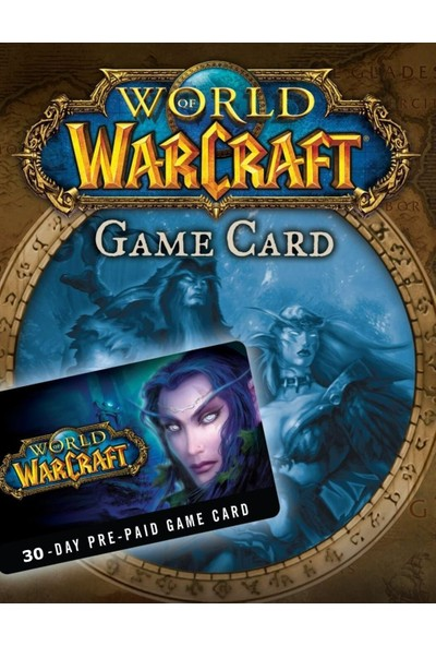 World Of Warcraft 30 Günlük Eu Prepaid Card Kodu
