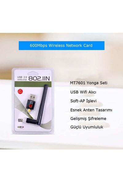 Ukscase Kablosuz 600 Mbps USB 2.0 Mini Wifi Adaptörü