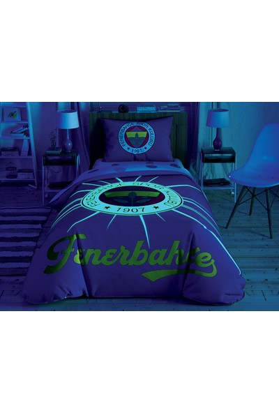 Taç Fenerbahçe Light Glow Tek Kişilik Nevresim Takımı 160 x 220 cm