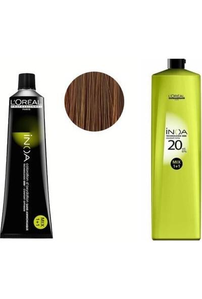 Loreal Professionnel Loreal Inoa No:8,0 Saç Boyası 60 Ml+Oksidan 20 Vol. %6 1000 ml