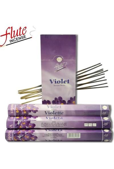 Flute Menekşe Tütsü 1 Kutu 6 x 20 Adet