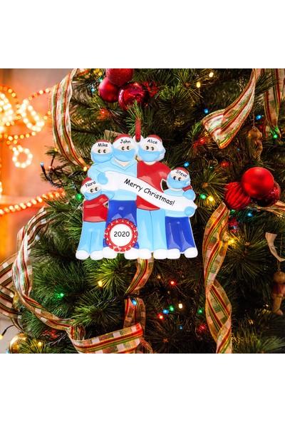 Buyfun Noel Ağacı Süs Kardan Adam Asılı Dekorasyon