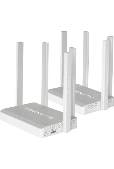 Keenetic 2'li Dsl Vdsl2/adsl2+ Modem + Air Router KN-2111-01TR