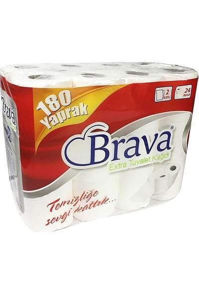 Brava Extra 2 Katlı Tuvalet Kağıdı 24'lü x 3