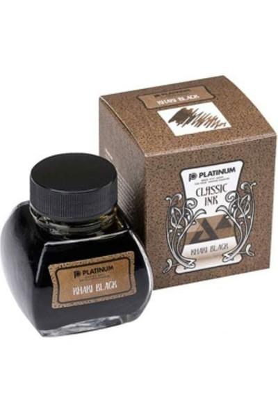 Platinum Şişe Mürekkep 60ML Khaki Black INKK-2000