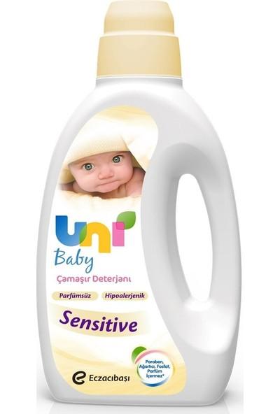 Uni Baby Sıvı Çamaşır Deterjanı Sensitive Parfümsüz 9 x 1500 ml
