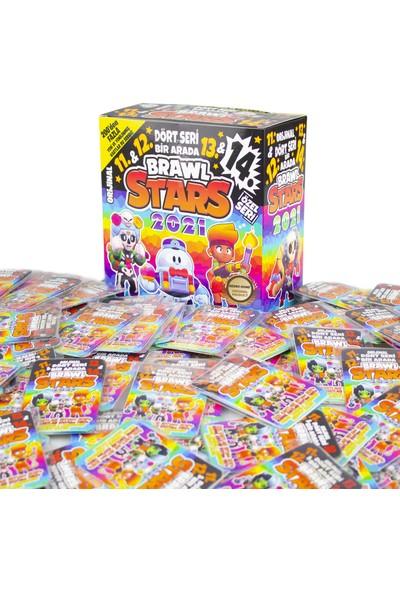 Redro Home Brawl Stars 11-12-13-14 Özel Seri Maxi Boy 450'LI Oyun Kartları