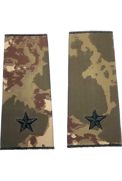 Seyhan Teğmen Kamuflaj Rütbe (Kara Kuvvetleri Yeni Kamuflaj )