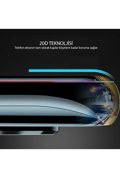 Zümrah Samsung Galaxy C9 Pro Fiber Optik Nano Şeffaf Ekran Koruyucu Jelatin