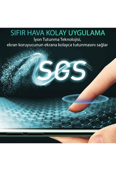 Zümrah Samsung Galaxy A80 Fiber Optik Nano Şeffaf Ekran Koruyucu Jelatin