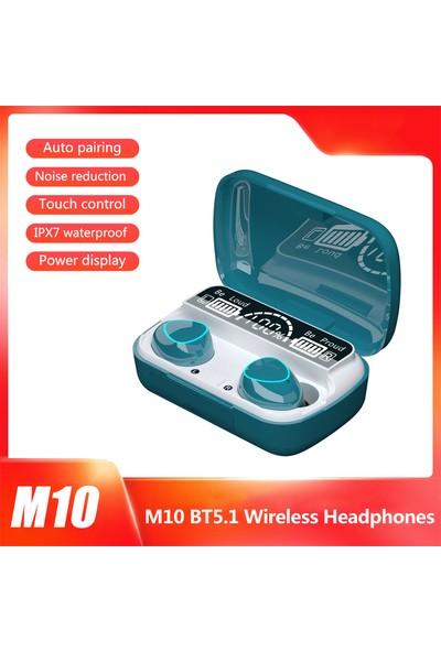 Auvc M10 Bt5.1 Otomatik Eşleştirmeli Kablosuz Kulaklık (Yurt Dışından)