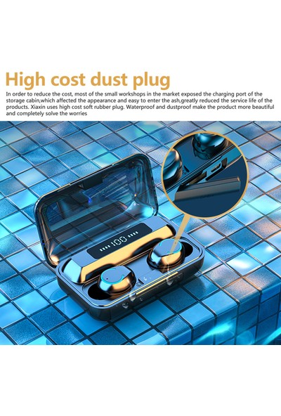 Auvc F9 Tws Bt5.0 Kablosuz Kulaklık Spor İçin (Yurt Dışından)