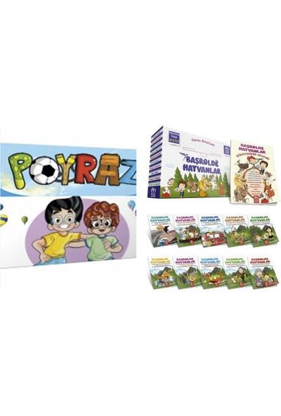 5 Renk Yayınları 3. Sınıf Poyraz 10'lu Hikaye+Model Başrolde Hayvanlar 10'lu Hikaye