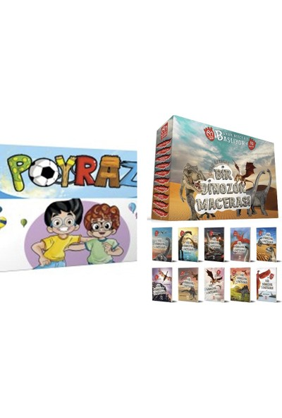 5 Renk Yayınları 3. Sınıf Poyraz + Model Bir Dinozor Hikayesi 10'lu Hikaye