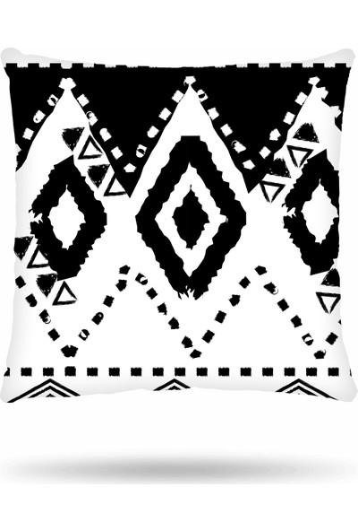 NevresimEv Etnik 4'lü Dekoratif Kırlent Kılıf Seti -K45