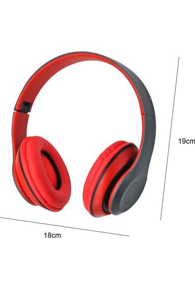 Auvc Bt Spor Oyun Kulaklığı Kulak Üstü (Yurt Dışından)