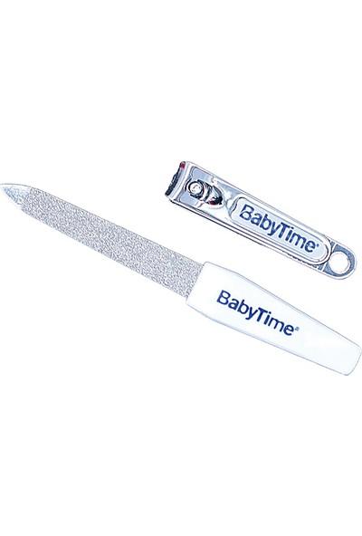 Baby Time Babytime Çıt Çıt Bebek Tırnak Makası (Tırnak Törpüsü Hediyeli)