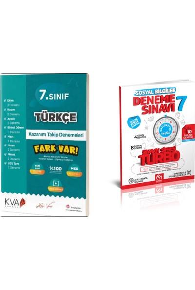 7. Sınıf Koray Varol Türkçe + Model Turbo Sosyal Deneme