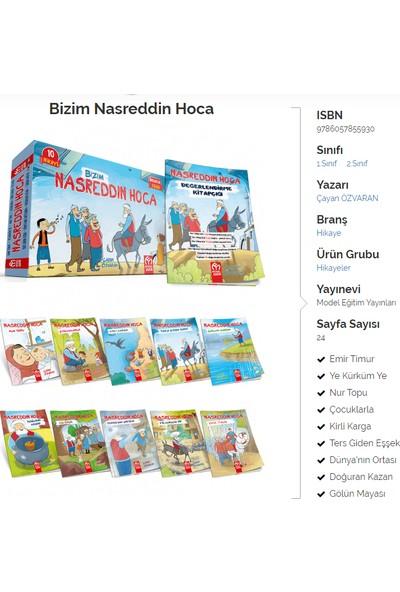 Model Yayınları 2. Sınıf 10'lu Nasreddin Hoca Hikaye + Değerlendirme Kitabı