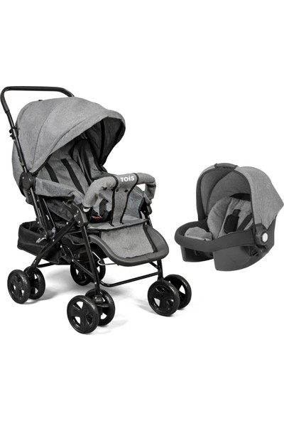 Tois Baby Ocean Pro Travel Sistem Bebek Arabası - Gri
