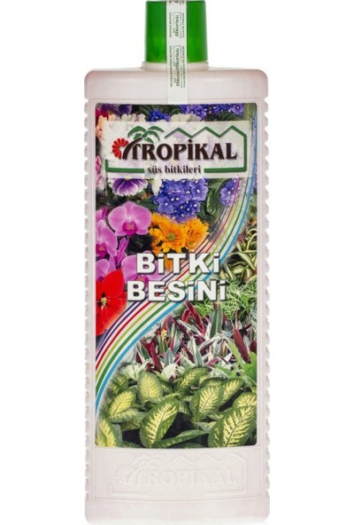 Tunç Botanik Tropikal Bitki Besini - Genel Kullanım 1000 ml