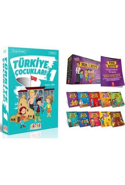 Key Yayınları 3. ve 4. Sınıf Hikayeleri Türkiye Çocukları 1 ve Fen Köyü