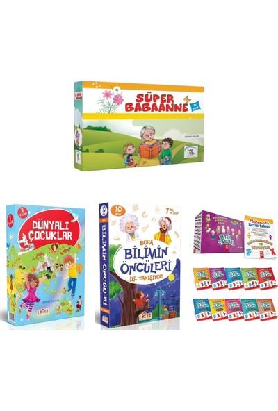 Key Yayınları 3. Sınıf Hikayeleri Süper Babaanne - Dünyalı Çocuklar - Bilimin Öncüleri ve Beyin Takımı