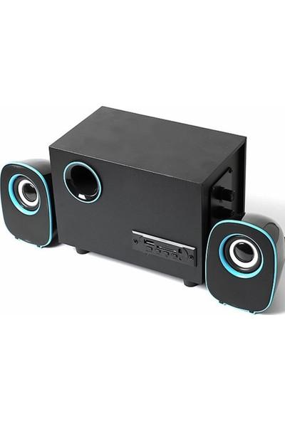 Havana FT-H33U 2+1 USB Sd Fm Destekli Multimedia Bluetooth Hoparlör