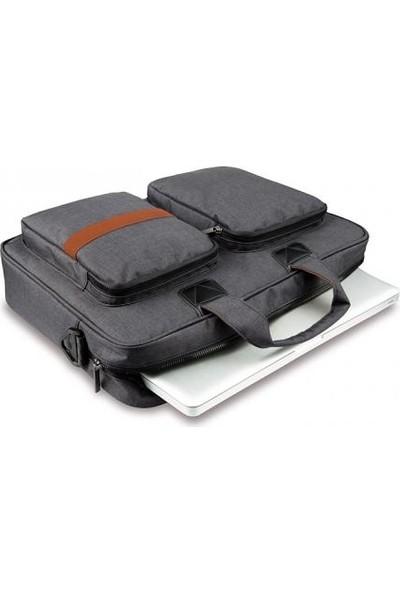 Cork Su Geçirmez Destekli Laptop Evrak Çantası
