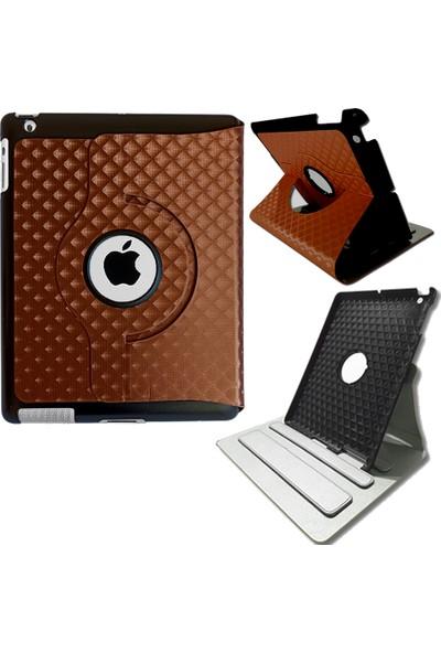 Smart Tech Apple iPad 2 iPad 3 Döner Stand 3D Desen Tablet Kılıfı MD288