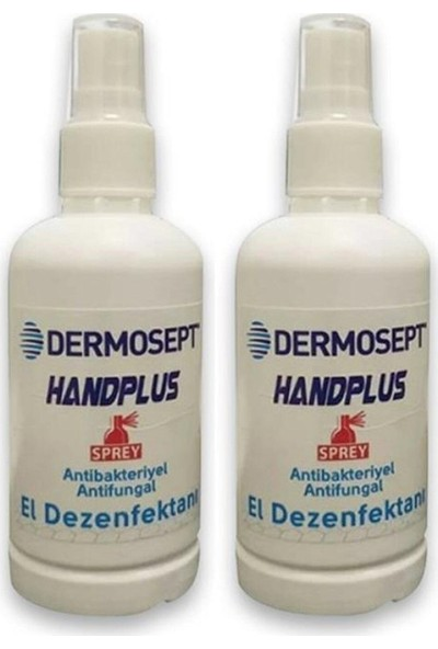 DERMOSEPT Antibakteriyel El Dezenfektanı 2 x 100 ml