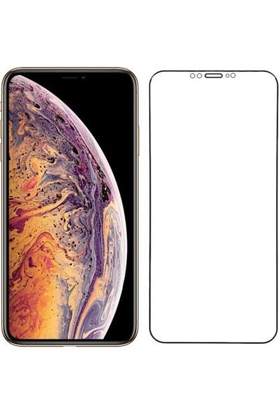 ZORE Apple iPhone 12 Pro Max Go Des Mat Seramik Ekran Koruyucu Siyah