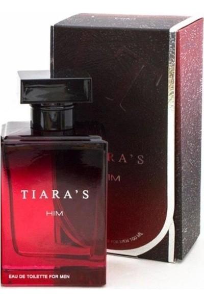 TİARA'S Erkek Parfüm EDT 3 x 50 ml