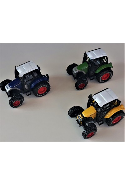Farmer Truck 3 Lü Metak Traktör Set