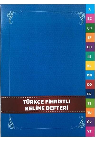Karatay Yayınları 4E Türkçe Fihristli Defter 13 x 19 cm