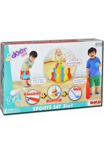 Kiki Spor Set 3'ü 1 Arada Oyuncak