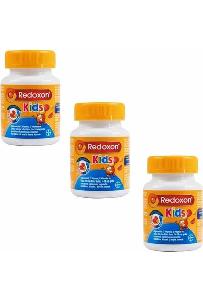 Redoxon Kids 60 Çiğnenebilir Tablet 3 Adet