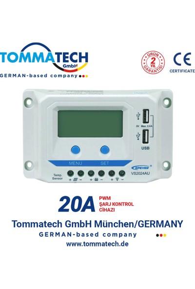 Tommatech 20A Pwm Şarj Kontrol Cihazı
