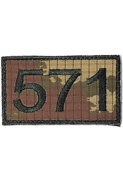 Seyhan 571 Peç - Arma - Askeri Patch