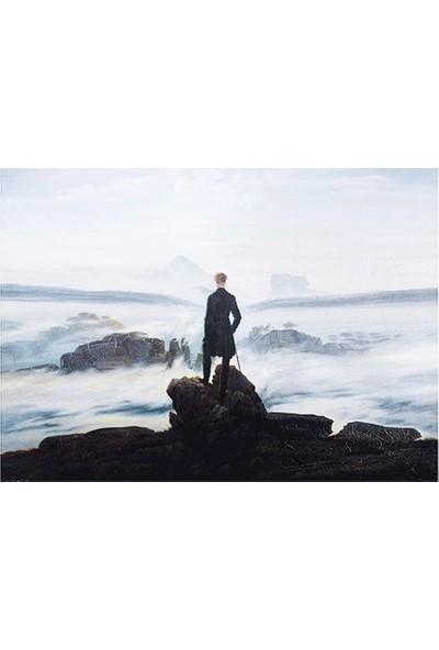 Deniz Çerçeve Caspar David Friedrich - Bulutların Üzerinde Yolculuk Tablosu Çerçevesiz