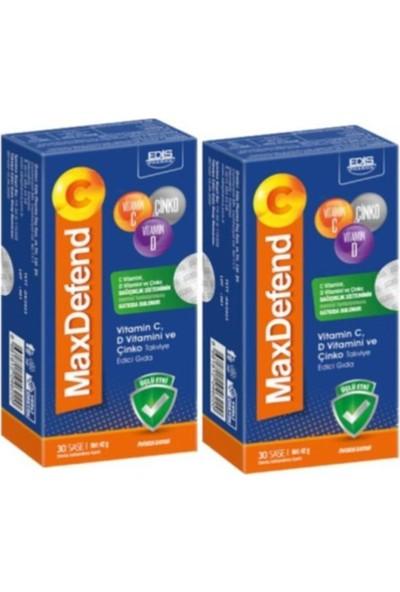 Edis Pharma Maxdefend C 30 Şase x 2