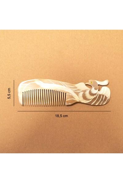 Berrdoğal Kemik Tarak (Boynuz) Şekilli Saplı