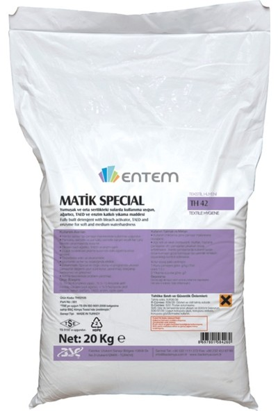 Entem Matik Special 20KG