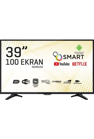 """Nordmende NM39150 39"""" 100 Ekran Uydu Alıcılı Smart LED TV"""