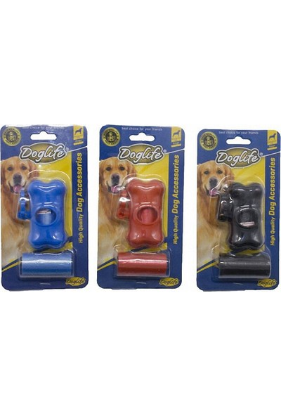 Doglife Dışkı Poşeti Seti Mix Renk