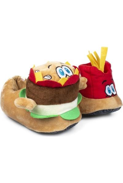 Twigy Rr0659F Tw Burger Kahverengi Çocuk Panduf
