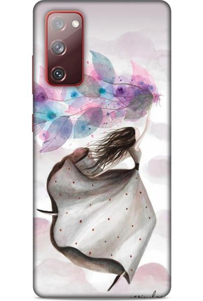 Lopard Y.Liva-2020 (Mutlu Peri) Samsung Galaxy S20 Fe Kılıf Silikon Kapak Desenli