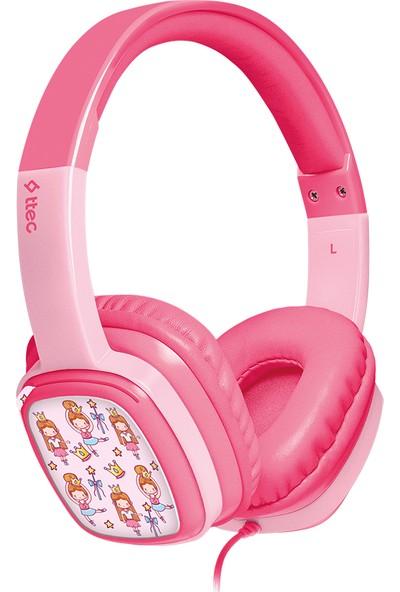 Ttec Soundbuddy Boyama Kartlı Çocuk Kulaklığı Pembe