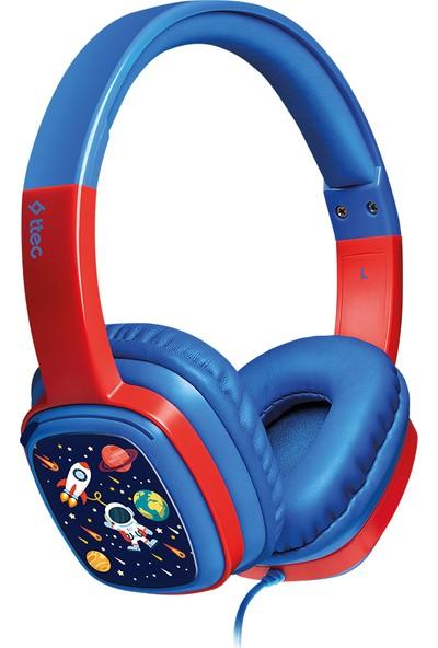 Ttec Soundbuddy Boyama Kartlı Çocuk Kulaklığı Mavi